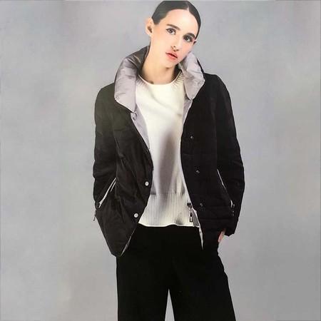 尹红秋冬新款大衣棉麻外套品牌女装折扣批发一手货源专柜正品折扣