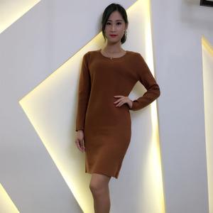 当季新款阿尔帕卡&羊驼绒高端高质毛衣品牌折扣女装批发货源