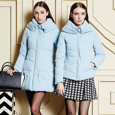 【售完】批发一线品牌艾唯都冬装羽绒服棉服羊绒大衣品牌折扣尾货